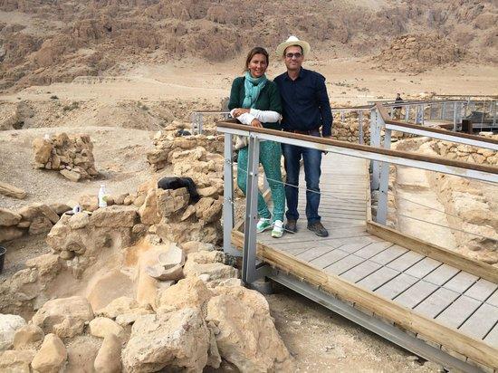 Danny the Digger: Qumran tour