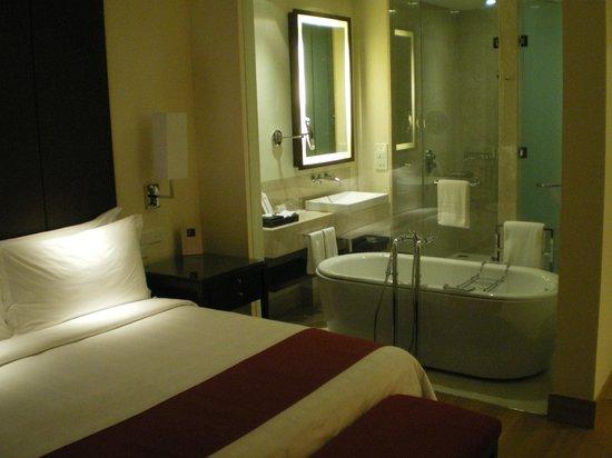 Trident Hyderabad: Bathroom