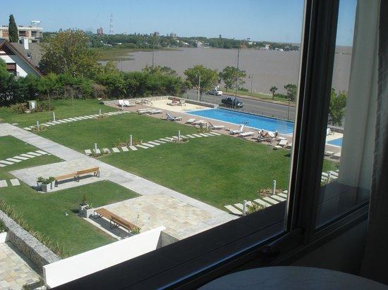Real Colonia Hotel & Suites : Vista desde la habitación