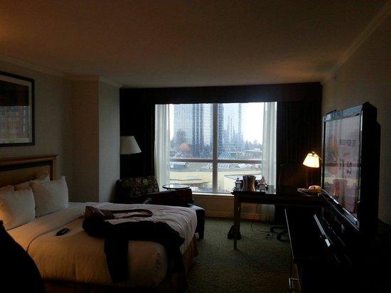 Hilton Vancouver Metrotown: Room 1412