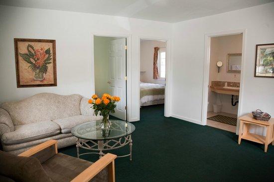 Sierra Mountain Inn : Room 1 living room