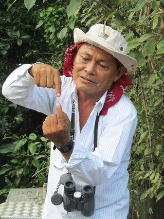 Muyuna Amazon Lodge: Our field guide, Moises.