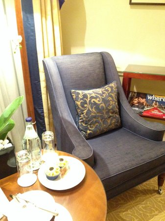 The Langham, London: Seating arrangement