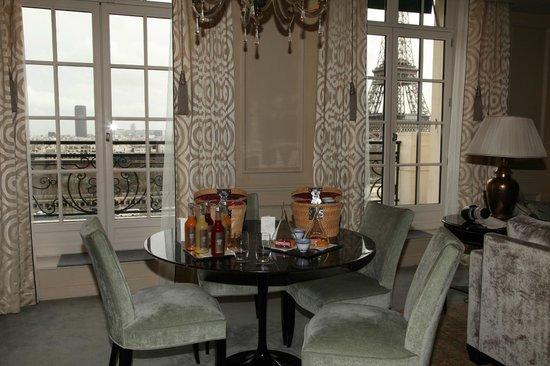 Shangri-La Hotel Paris : Quelques douceurs