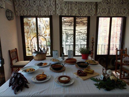 Restaurante Casa Luciano : Platos típicos  tradicionales de la zona.