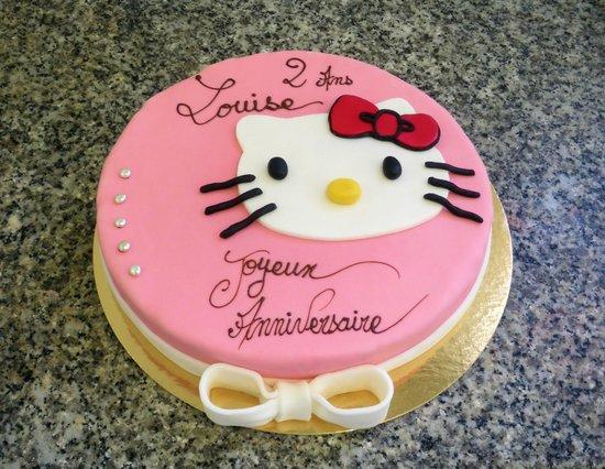 """Patisserie Richard: Le """"Hello Kitty"""""""