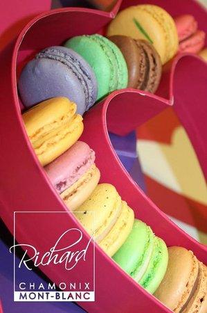 Patisserie Richard: Cœur de macarons