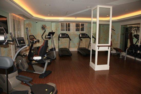 Shangri-La Hotel Paris: La salle de fitness