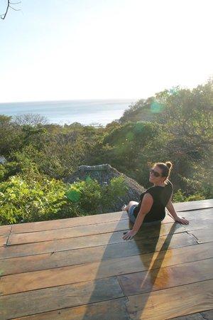 Buena Vista Surf Club: Yoga platform