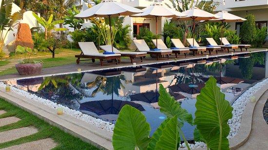 "Navutu Dreams Resort & Wellness Retreat: The ""lap"" pool"