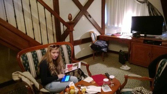 Arcadia Hotel: maisonette - brilliant idea