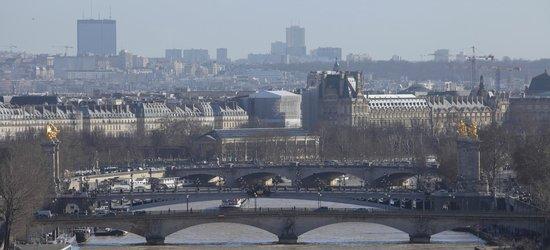 Shangri-La Hotel Paris: Vue de la chambre