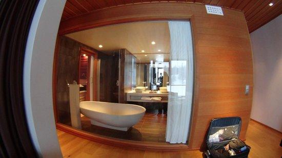 Copperhill Mountain Lodge : bathroom