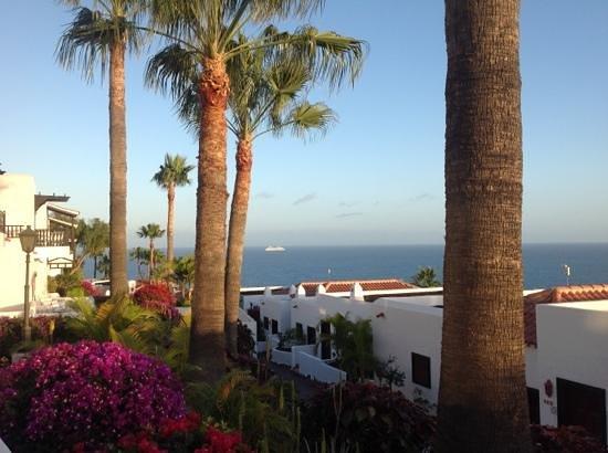 Hotel Jardin Tecina : uitzicht terras