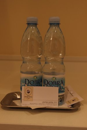 Unitas Hotel: Complimentary water
