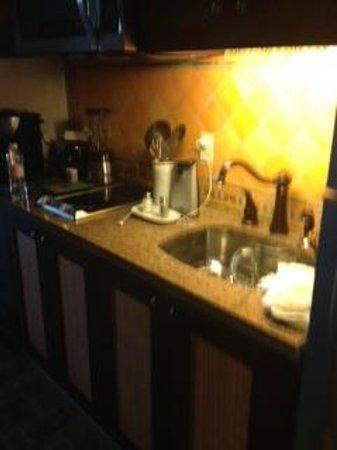 Hacienda Encantada Resort & Spa: Kitchenette in studio