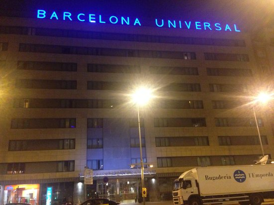 Barcelona Universal Hotel: Could not find any faults!