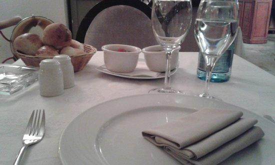 Tantra Restaurant & Lounge : apparecchiatura