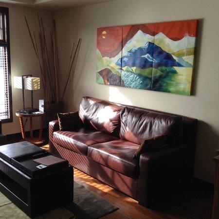 Copper Point Resort : our livingroom