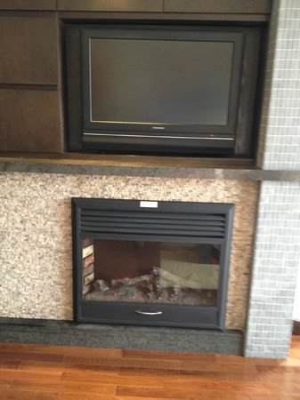 Copper Point Resort : Another TV and Fireplace combo, Twice as nice