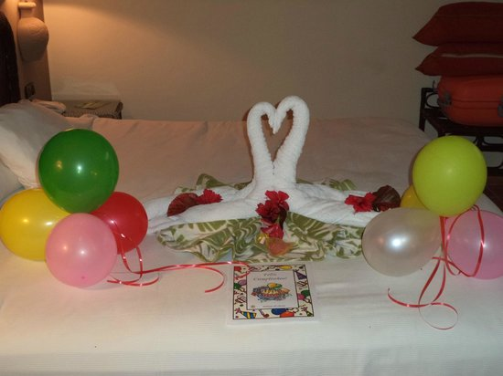 Catalonia Bavaro Beach, Casino & Golf Resort: cumpleaños feliz