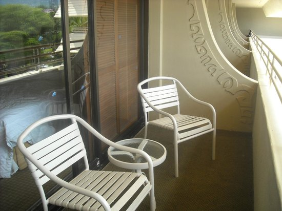 Royal Kona Resort: Balcony