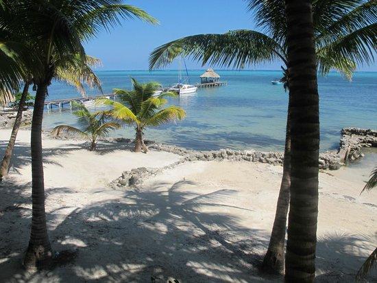 Xanadu Island Resort: View from deck, suite 11