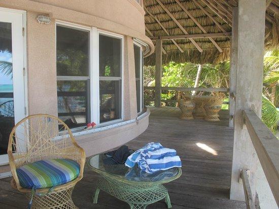 Xanadu Island Resort: deck (second story) of suite 11
