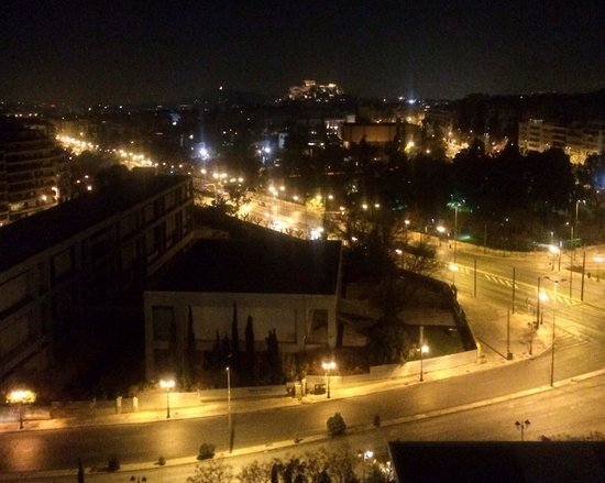 Hilton Athens : The Acropolis view from room Balcony 😊 perfect!