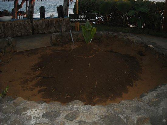 Royal Kona Resort Luau : The Earth Oven