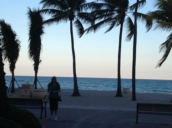 Hollywood Beach Marriott: The love of my life!