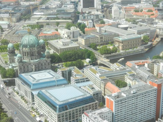 Mitte: View from the TV Tower