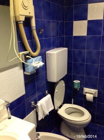 Atlantic Hotel Arona : Tavoletta WC che si stacca....