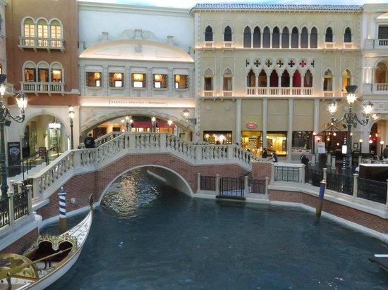 The Venetian Las Vegas: los canales.
