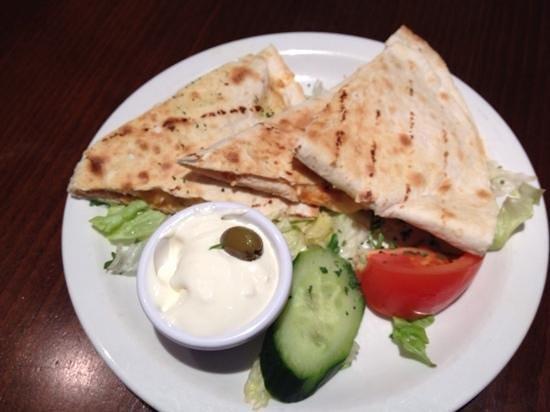 Loco Mexicano: chicken quesadilla