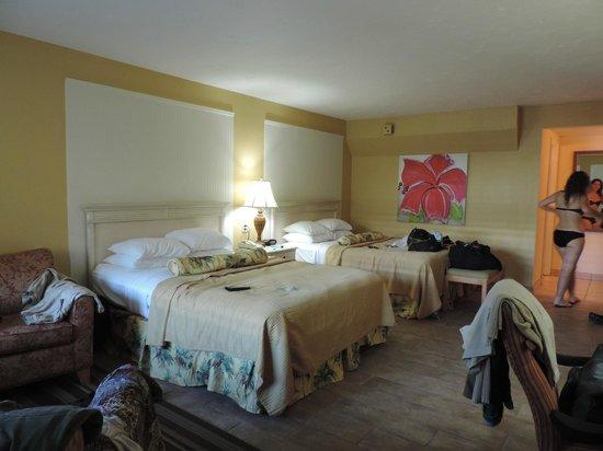 Best Western Hibiscus Motel: Grande chambre pour 4