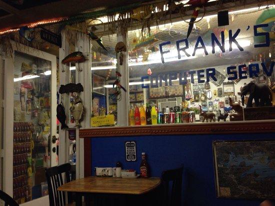 Frank's Bait & Taco : Radom decorations.