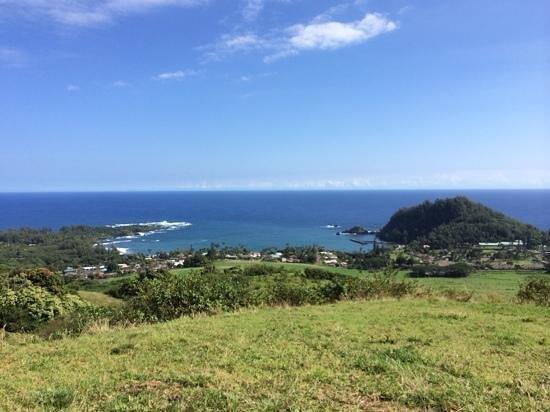 Travaasa Hana, Maui: Hana Bay as seen from a short hike from Travaasa