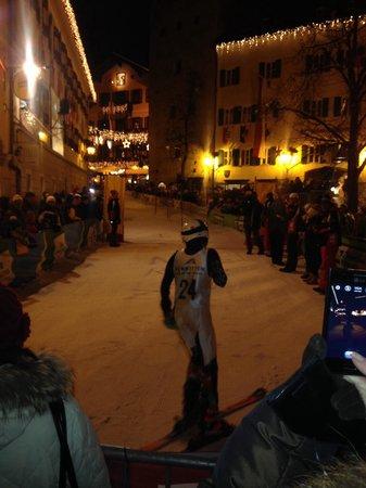 Hotel Heitzmann : Wed night race through the town