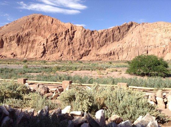 Alto Atacama Desert Lodge & Spa: Paisaje desde el hotel