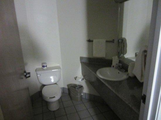 Motel 6 Las Cruces - Telshor: Bathroom