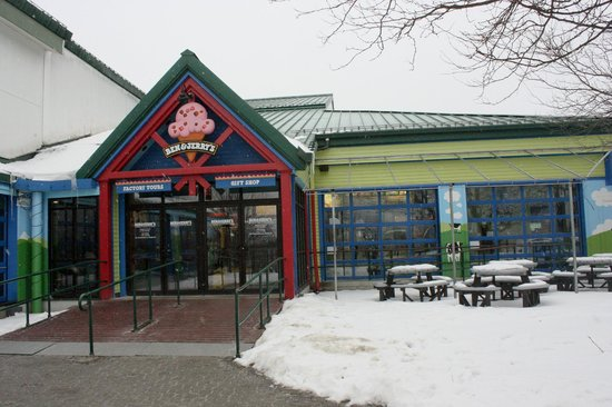 The entry to the Ben & Jerry's Factory