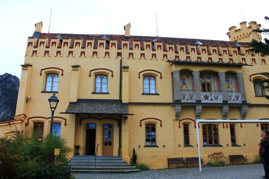 Schloss Hohenschwangau: decoração externa
