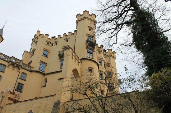 Schloss Hohenschwangau: vista do castela