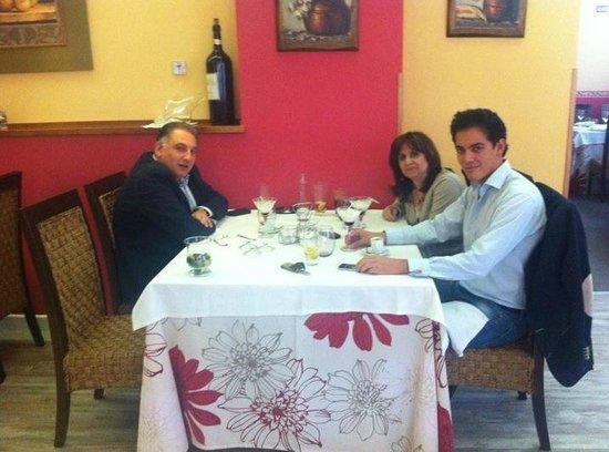Restaurante Homarus : comida