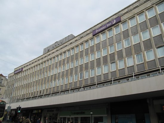 Premier Inn Brighton City Centre Hotel: Hotel exterior