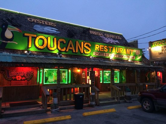 Toucan S Restaurant Entrance As Seen From The Road