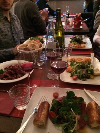 L'Ange 20 Restaurant : Main Course