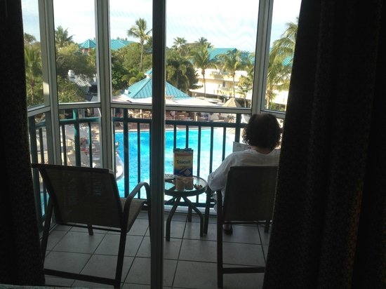 'Tween Waters Island Resort & Spa : Pool view