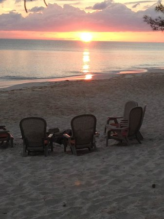 Pigeon Cay Beach Club : Fire Pit